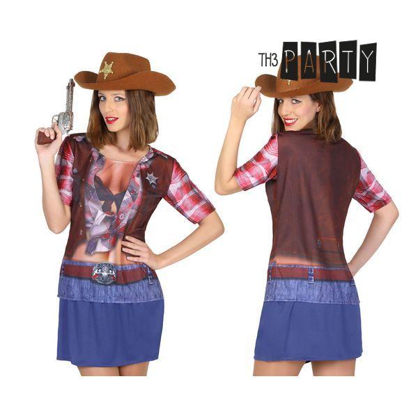 Tričko pro dospělé Th3 Party 6674 Žena kovboj
