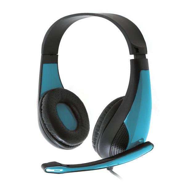 Słuchawki Gaming Omega Freestyle FH4008BL Niebieski