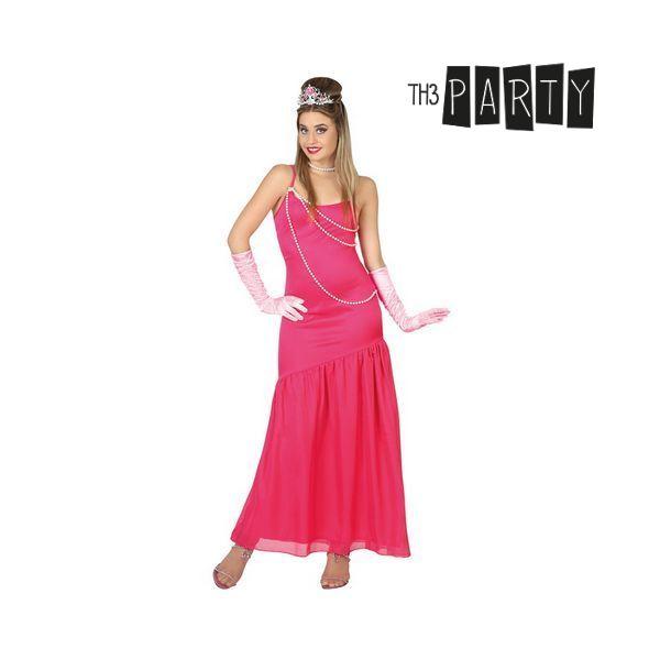 Kostým pro dospělé Th3 Party Dáma Růžový - XL