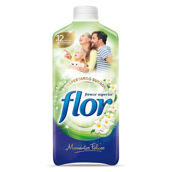 Płyn do Płukania Tkanin Flor Moments 1,4 l (64 prania)