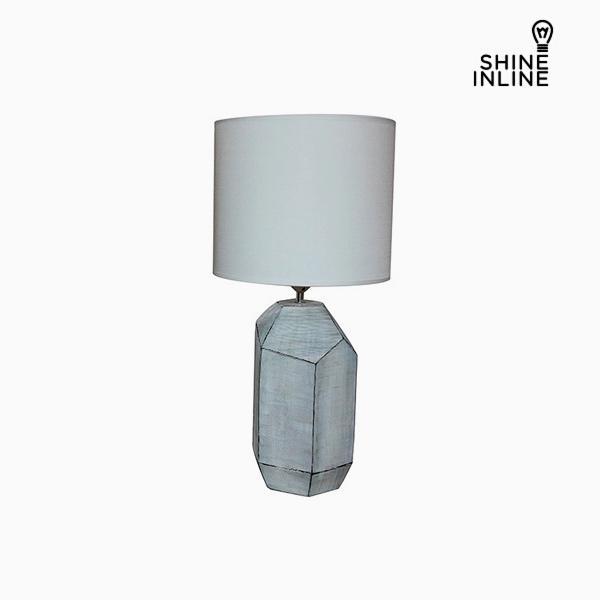 Stolní Lampa Bílý (30 x 30 x 61 cm) by Shine Inline