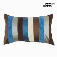 Poduszka motegi kolor niebieski - Colored Lines Kolekcja by Loom In Bloom