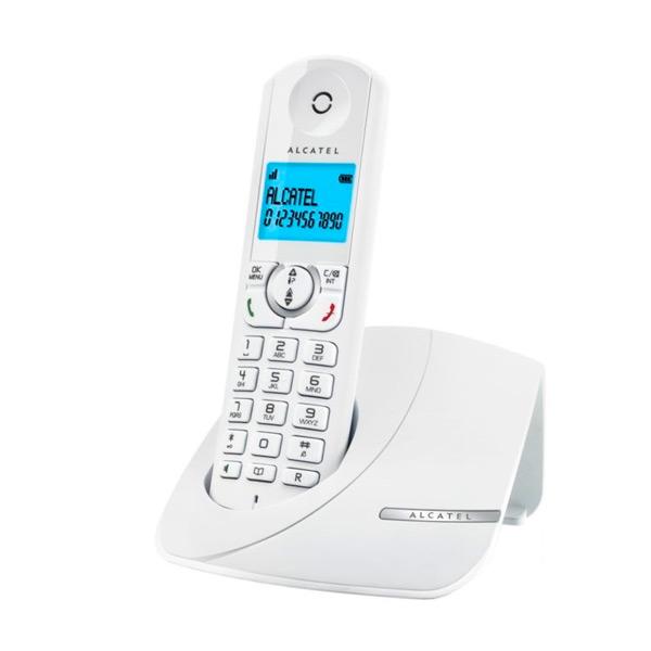 Telefon Bezprzewodowy DUO Alcatel F380-S (2 pcs) Biały