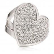 Dámský prsten Guess UBR11401-54 (17,19 mm)