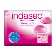 Podpaski na Nietrzymanie Moczu Dermoseda Micro Plus Indasec (16 uds)