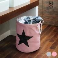 Pytel na Špinavé Prádlo Černá Hvězda Wagon Trend - Růžový