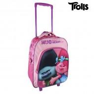 Plecak szkolny 3D z kółkami Trolls 361