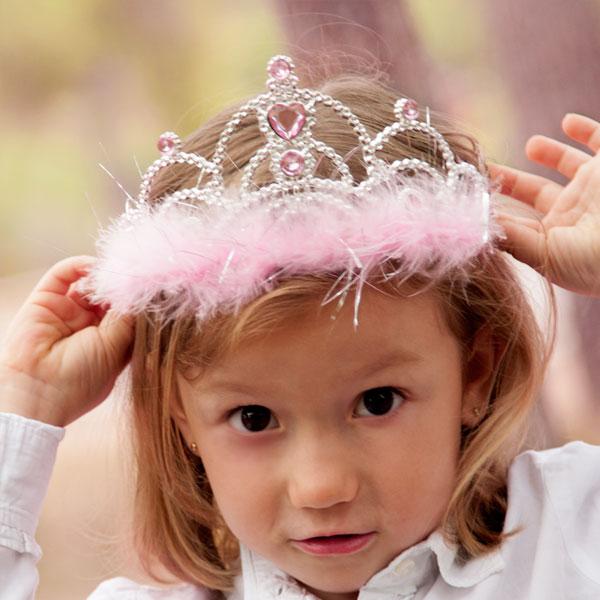 Korona Księżniczki dla Małych Dziewczynek