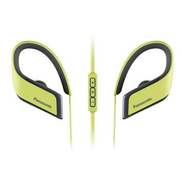Sportovní Bluetooth Handsfree s Mikrofonem Panasonic RP-BTS30E Žlutý