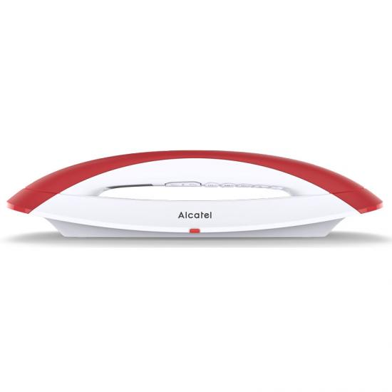 Telefon Bezprzewodowy Alcatel SMILE DECT HD Czerwony Biały