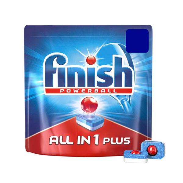Tablety do Myčky Finish All-in-one Plus (61 kusů)