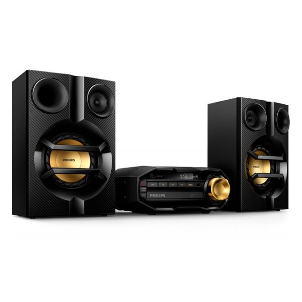 Mini Hi-Fi systémy Philips FX10/12 CD-R USB Bluetooth 230W