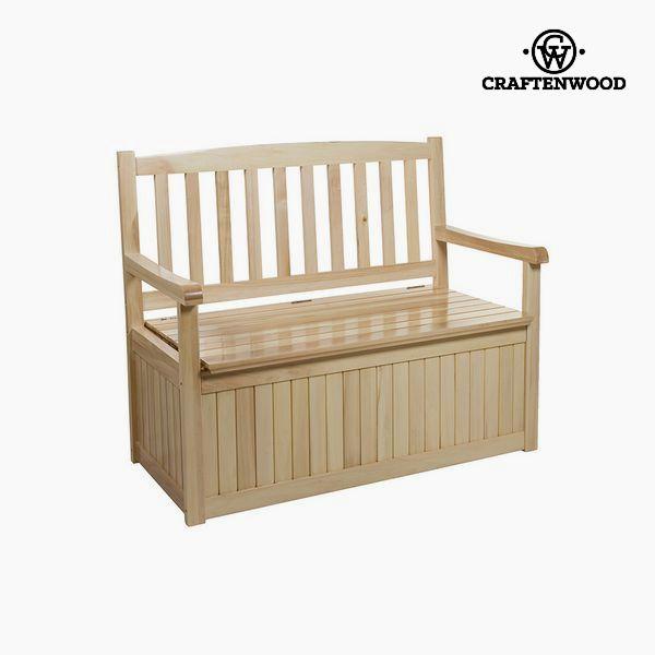 Lavice Topolové dřevo (116 x 65 x 25 cm) by Craftenwood