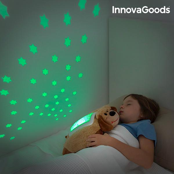 Plyšový Projektor InnovaGoods - Pes