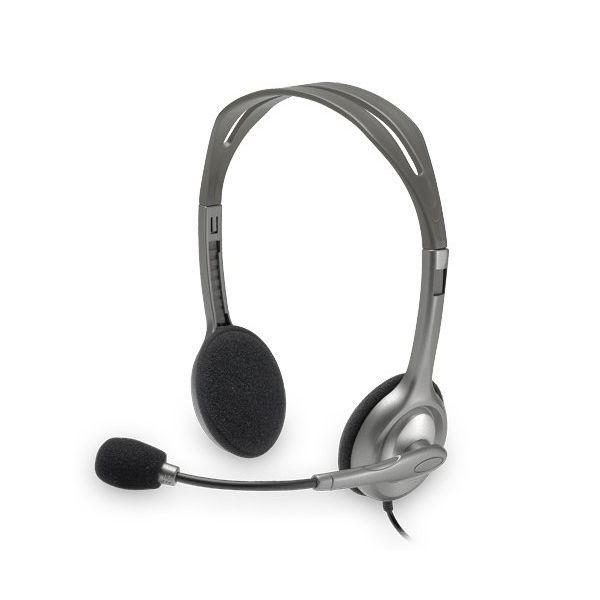 Słuchawki z Mikrofonem Logitech H110 2 x Jack 1,4 m