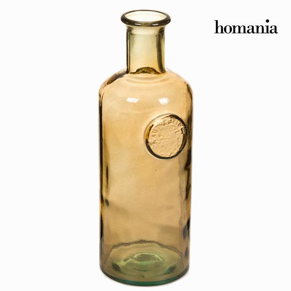 Wazon ze szkła z recyklingu Brązowy - Crystal Colours Kitchen Kolekcja by Homania