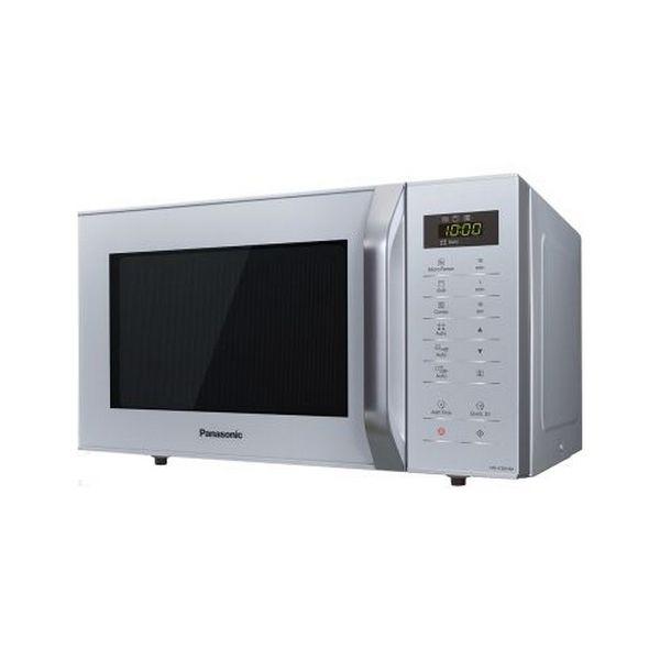 Mikrofalówka z Grillem Panasonic NN-K36HMMEPG 23 L Srebro