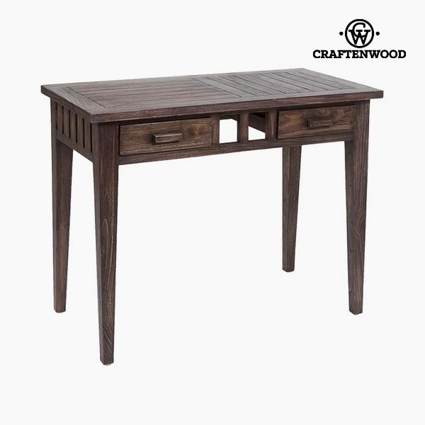 Psací stůl (2 zásuvky) Dřevo mindi (100 x 50 x 78 cm) by Craftenwood