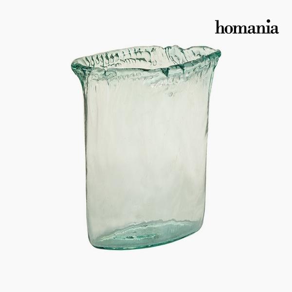 Wazon Szkło z recyklingu Przezroczysty (26 x 11 x 34 cm) by Homania