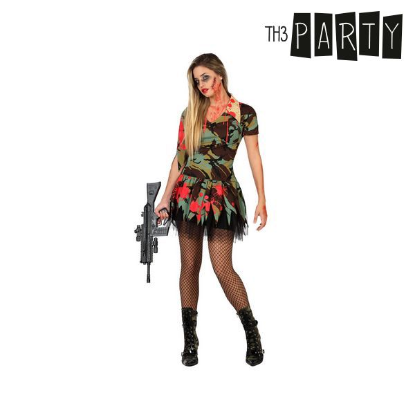 Kostým pro dospělé Th3 Party Sexy zombie voják - XS/S