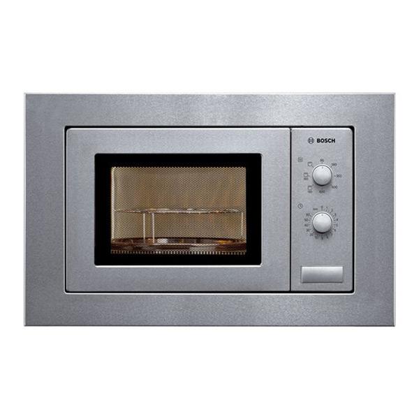 Built-in microwave with grill BOSCH HMT72G650 18 L 800W Nerezová ocel