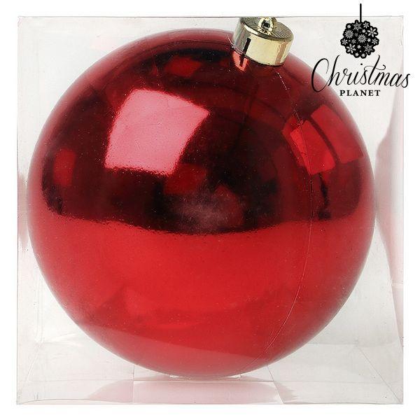 Vánoční koule Christmas Planet 7728 15 cm Červený