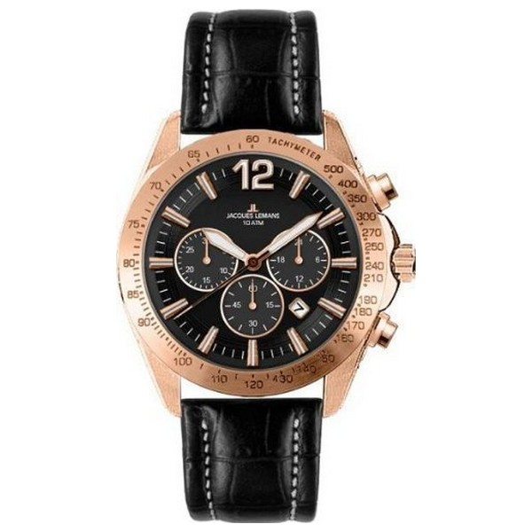 Pánské hodinky Jacques Lemans 1-1751C (44 mm)