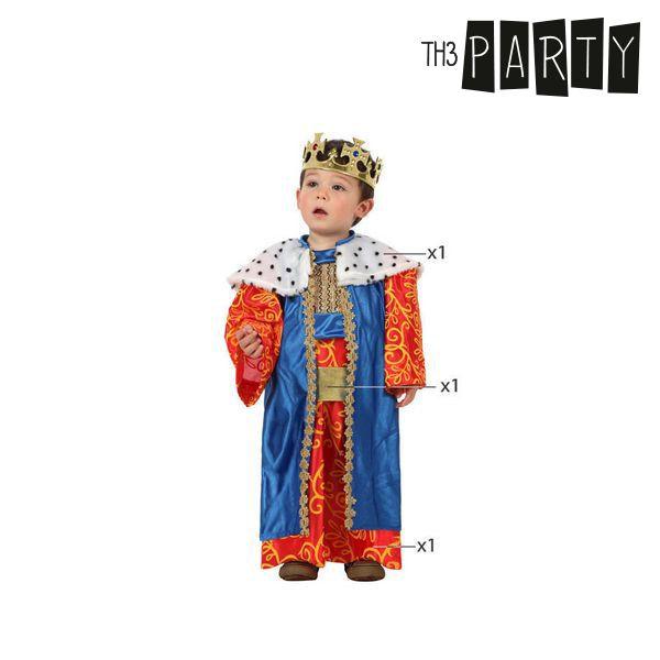 Kostium dla Niemowląt Th3 Party Król mag - 0-6 miesięcy