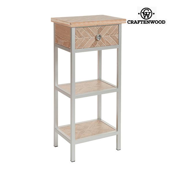 Malý postranní stolek Mdf (46 x 33 x 98 cm) by Craftenwood