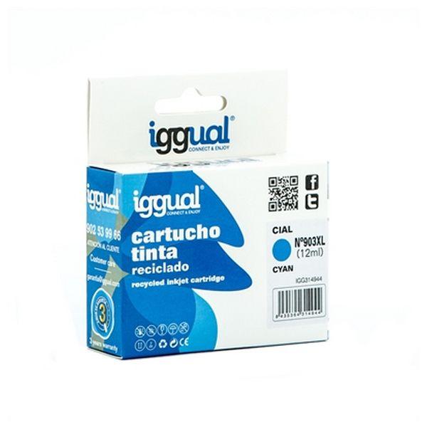 Recyklovaná Inkoustová Kazeta iggual IGG314944 HP 903 Azurová