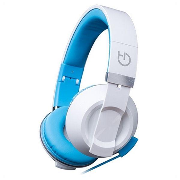 Słuchawki z Mikrofonem Hiditec COOL KIDS WHP010005 Niebieski