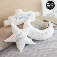 Poduszki Dziecięce Gwiazda, Księżyc i Chmura Oh My Home (3 sztuki)