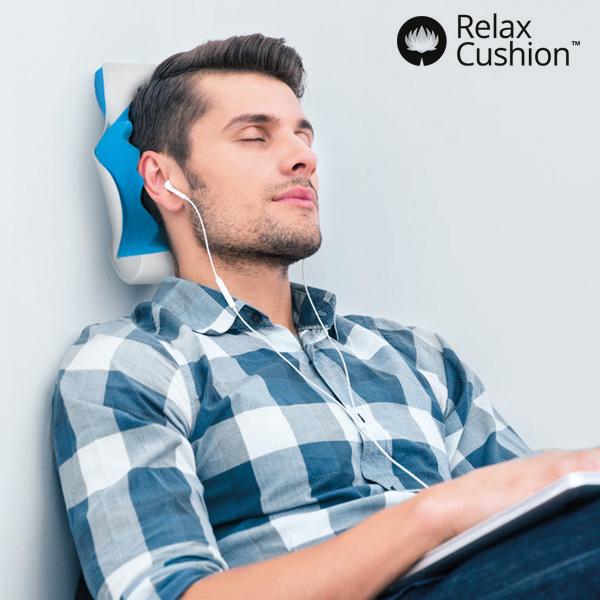 Krční Opěra s Antistresovým Polštářem Relax Cushion
