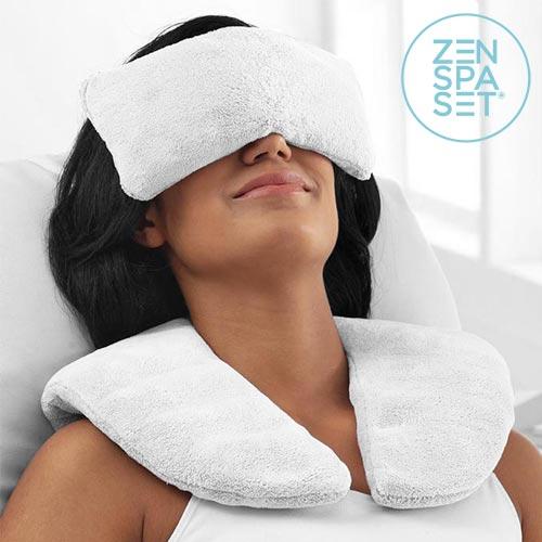 Zestaw Zen Spa (Poduszka i Kompresy Relaksacyjne) | ciepło i zimno