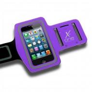 Sportovní neoprenové pouzdro na telefon X-ONE 106184 Velikost L Fialový