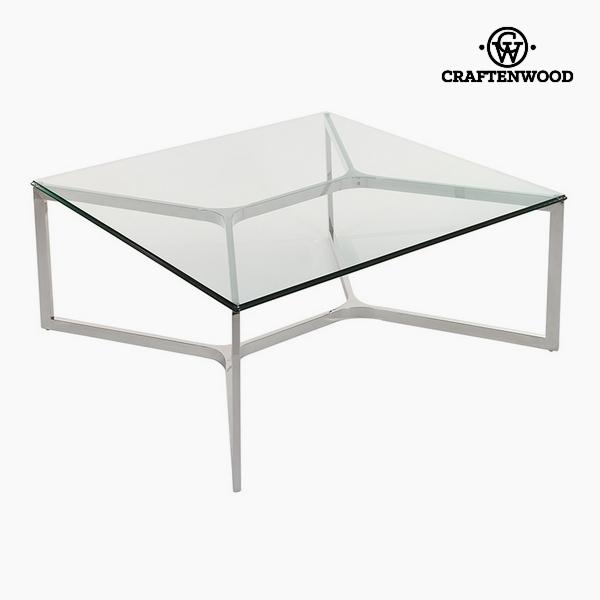 Stolik Szkło hartowane (90 x 90 x 41 cm) by Craftenwood