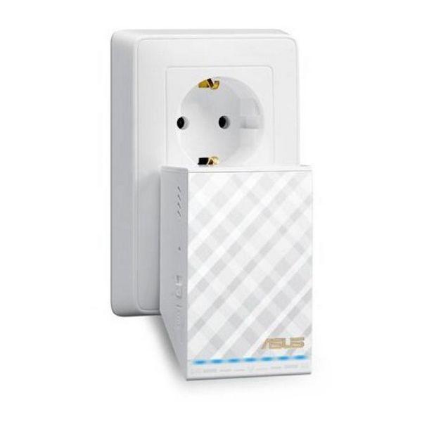 Punkt Dostępu ze Stacją Przekaźnikową Asus 90IG00T0-BM0N0 AC750 10 / 100 Mbps 2,4 GHz -5 GHz