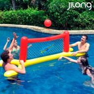 Nafukovací volejbalová síť Jilong JO1291 (239 x 74 x 76 cm) Červený Žlutý