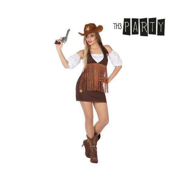 Kostým pro dospělé Th3 Party Žena kovboj - M/L