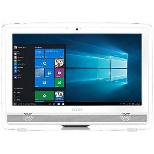 "All in One MSI Pro 22ET 6M-025EU Windows 10 Intel® Core i3-6100 21.5"" LCD LED Full HD 4 GB DDR3L 1 T"
