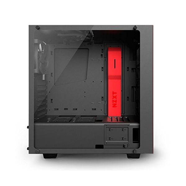 Semi Wieża ATX NZXT S340 Elite CA-S340W-B4 Czarny Czerwony