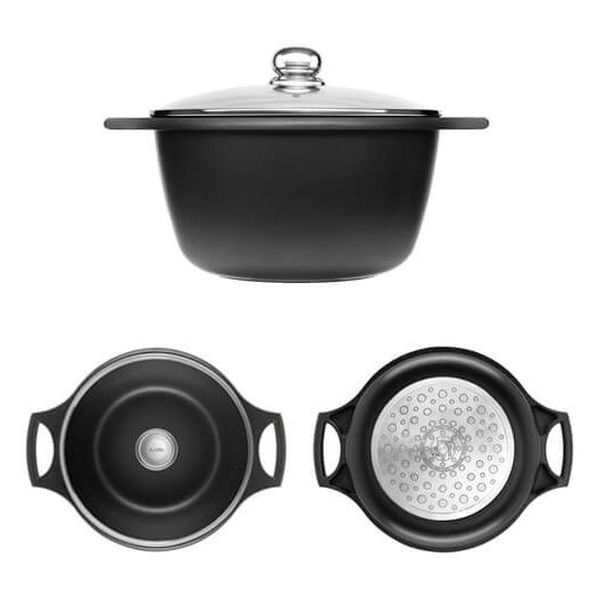 Casserole with lid Castey IO28 (28 cm)
