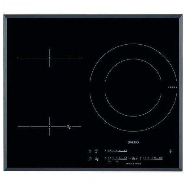 Indukční Plotýnka Aeg HKL65311FB 56 cm Černý (3 místo pro vaření)