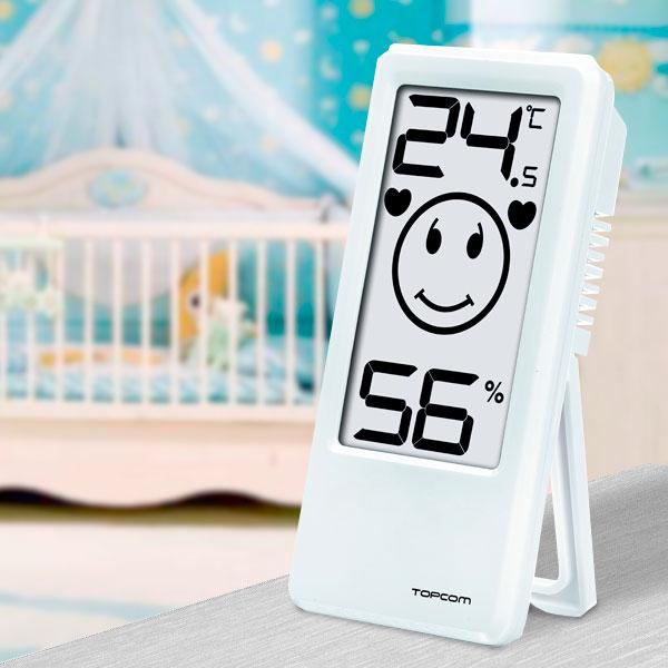 Termometr i Higroment Pokojowy TopCom TH4675