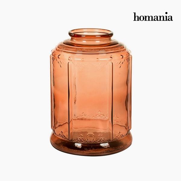 Świecznik Szkło z recyklingu (26 x 26 x 36 cm) by Homania