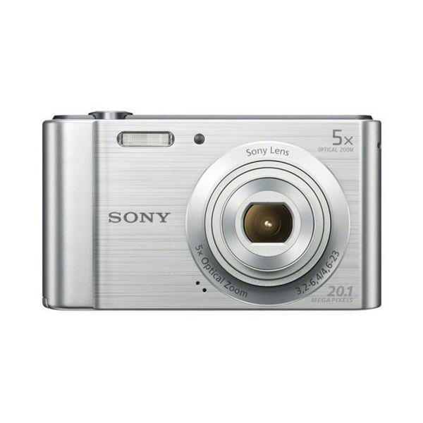 Aparat kompaktowy Sony DSCW800S Srebro