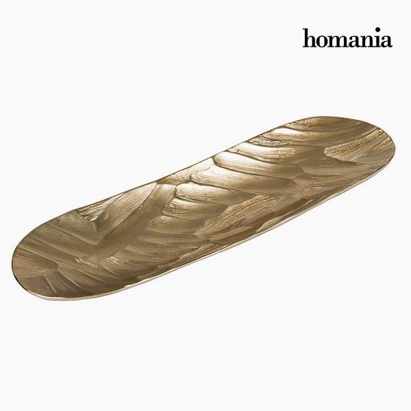 Dekoracja na Stół Podłużny Szampan - New York Kolekcja by Homania