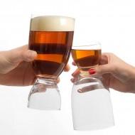 Szklanka do Piwa z Kieliszkiem