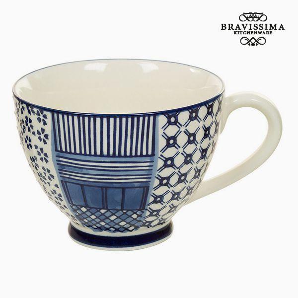 Cup Porcelana Nadruk - Kitchen's Deco Kolekcja by Bravissima Kitchen