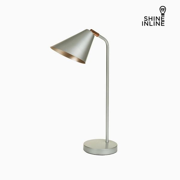 Stolní Lampa Stříbro Hliník (30 x 16 x 53 cm) by Shine Inline